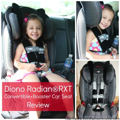 Diono Radian RXT Car Seat Review & Giveaway