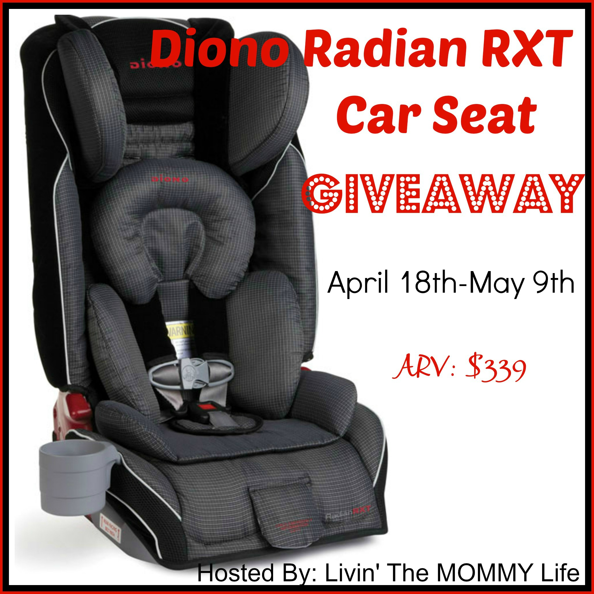 enter to win a diono radian rxt car seat. Black Bedroom Furniture Sets. Home Design Ideas