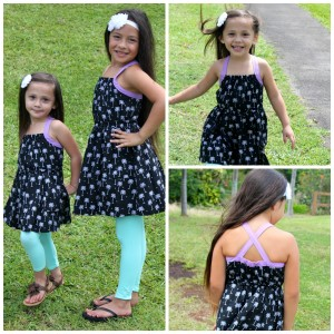 FabKids Palm Tree Dress Outfits