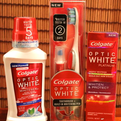 Colgate Optic White regimen Review & Giveaway