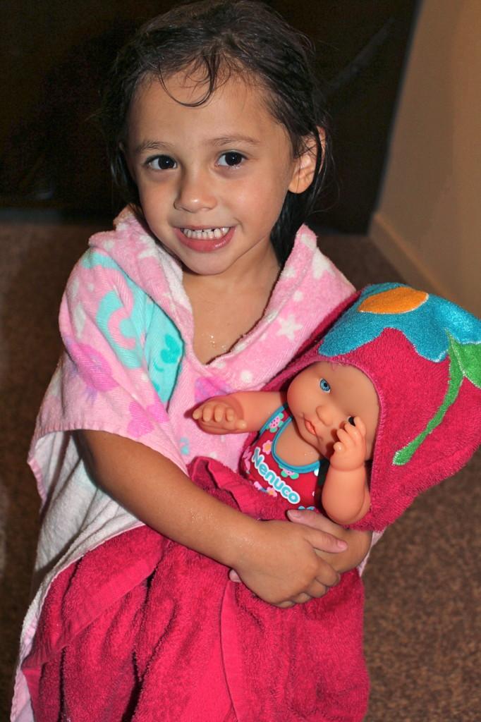 bath time doll