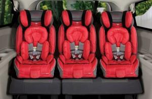 car seat fits three in a row
