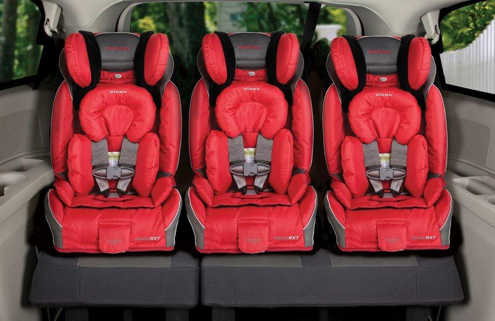 car seat fits three in a row