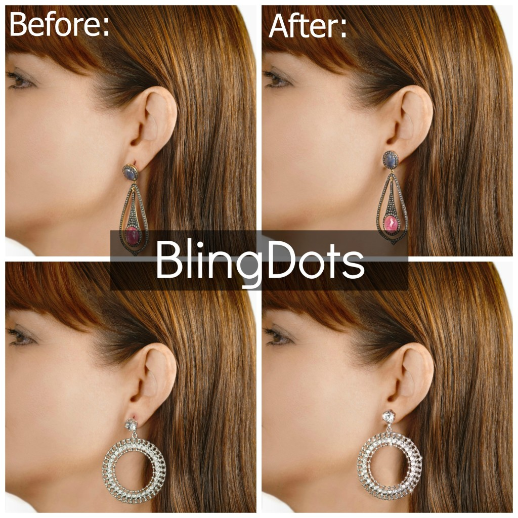 BlingDots Before and After