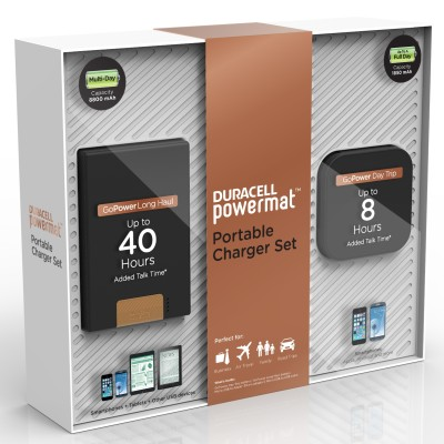 Duracell Powermat Portable Charger Set from Sam's Club