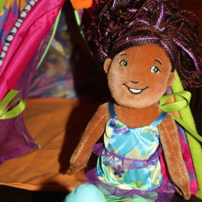 Groovy Girls Brenna Doll & Totally Tentastic Tent