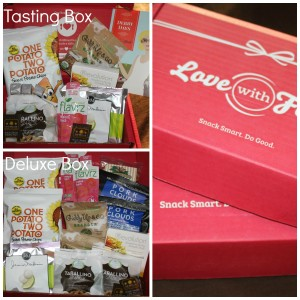 LoveWithFood Healthy Snacks Subscription Box