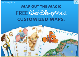FREE Custom Disney Maps!!