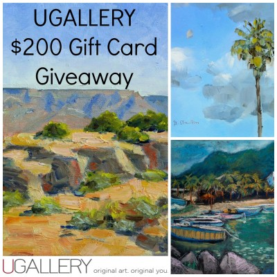 $200 UGallery Gift Card Giveaway – Original Artwork for your Walls!