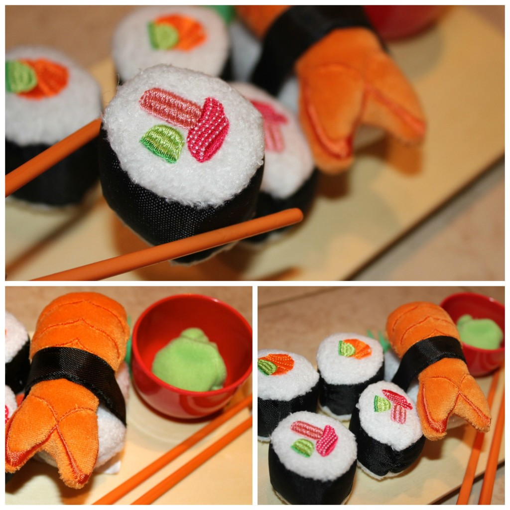 pretend play food sushi set