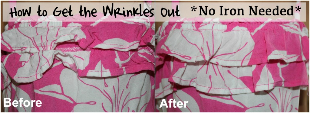 How to get wrinkles out