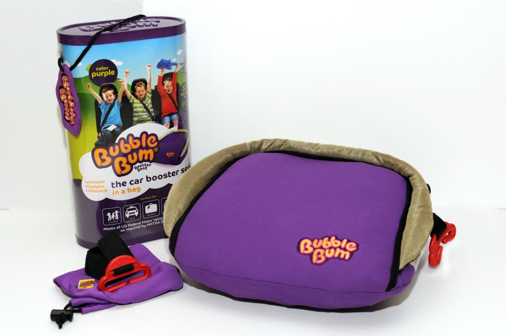 bubblebum inflatable booster review