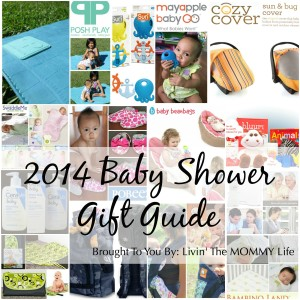 2014 Baby Shower Gift Guide Gift Ideas
