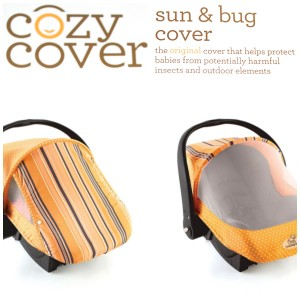 Cozy Cover Sun & Bug Infant Carrier Cover