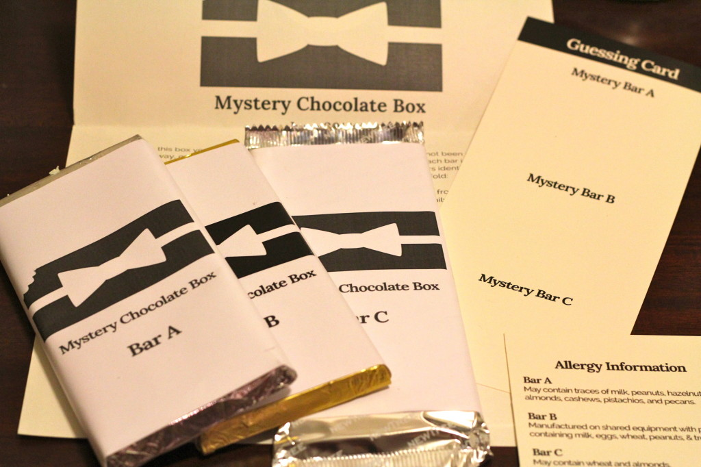 mystery chocolate box