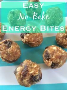 easy no-bake energy bites