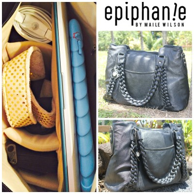 What's in your Camera Bag?  Epiphanie Clover Camera Bag Review & Giveaway
