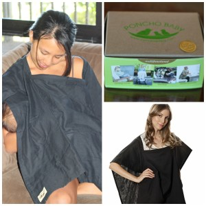 poncho baby nursing cover black