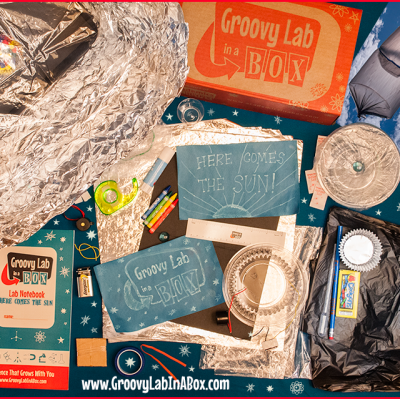 Groovy Lab in a Box – Monthly Subscription Box for Kids