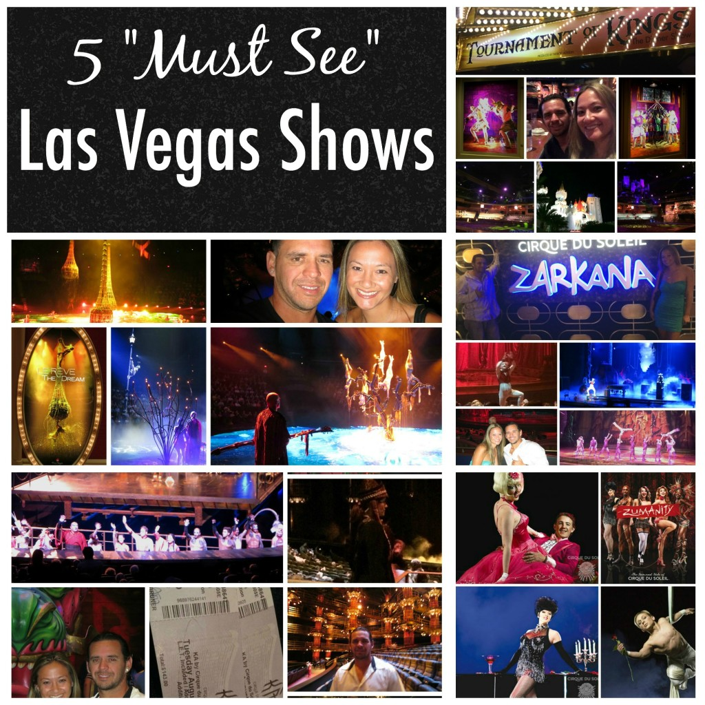top 5 las vegas shows