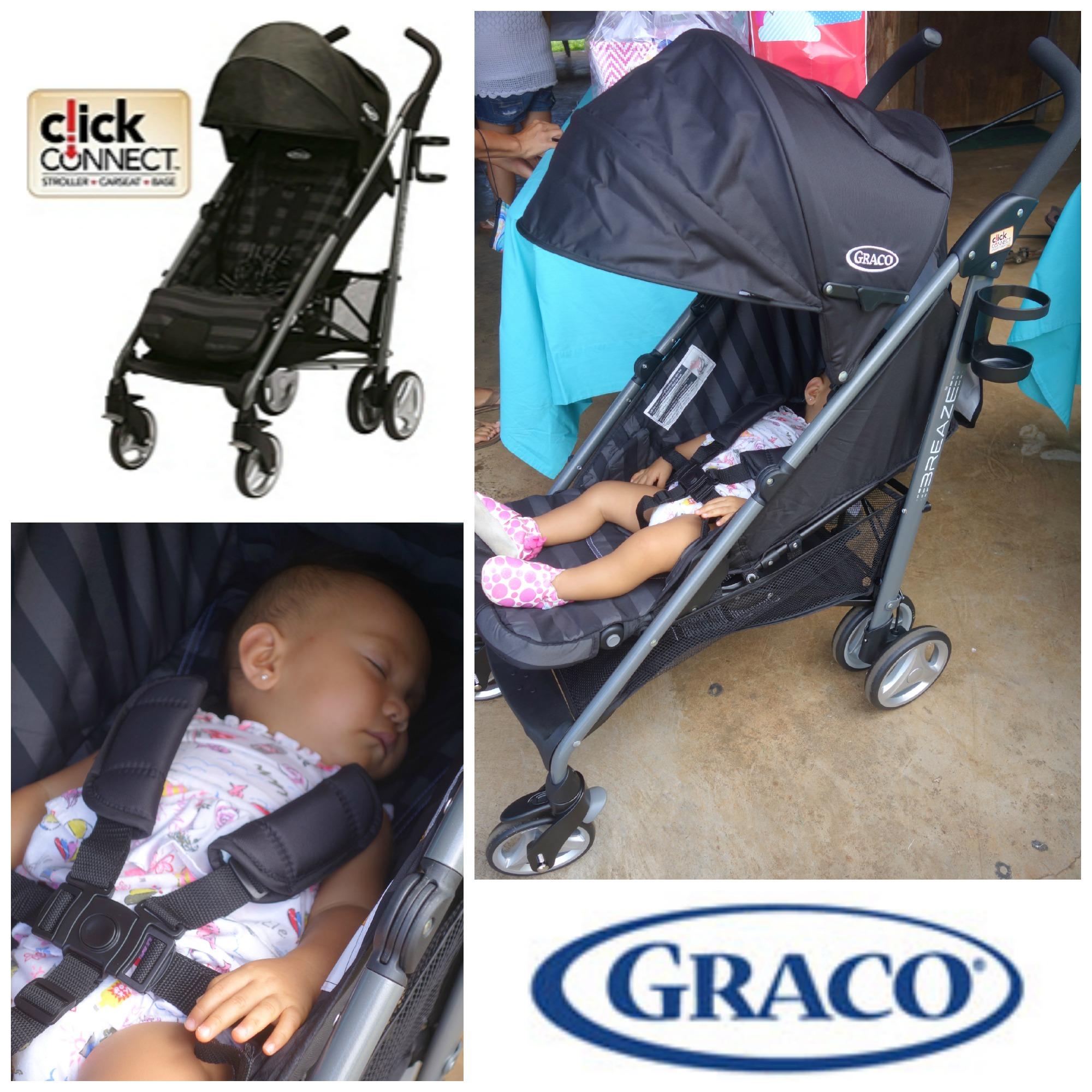 Graco Breaze Stroller The Breaze Connect