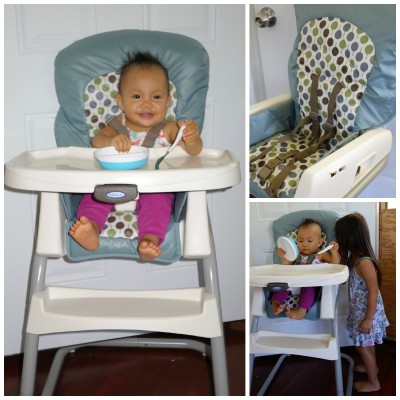 Graco's Ready2Dine Highchair and Breaze Click Connect Umbrella Stroller Grow with Baby