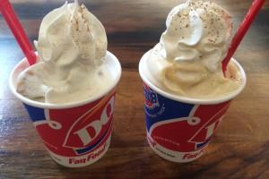 Dairy Queen Blizzard Battle – Apple Pie or Pumpkin Pie Blizzard, What's your pick?
