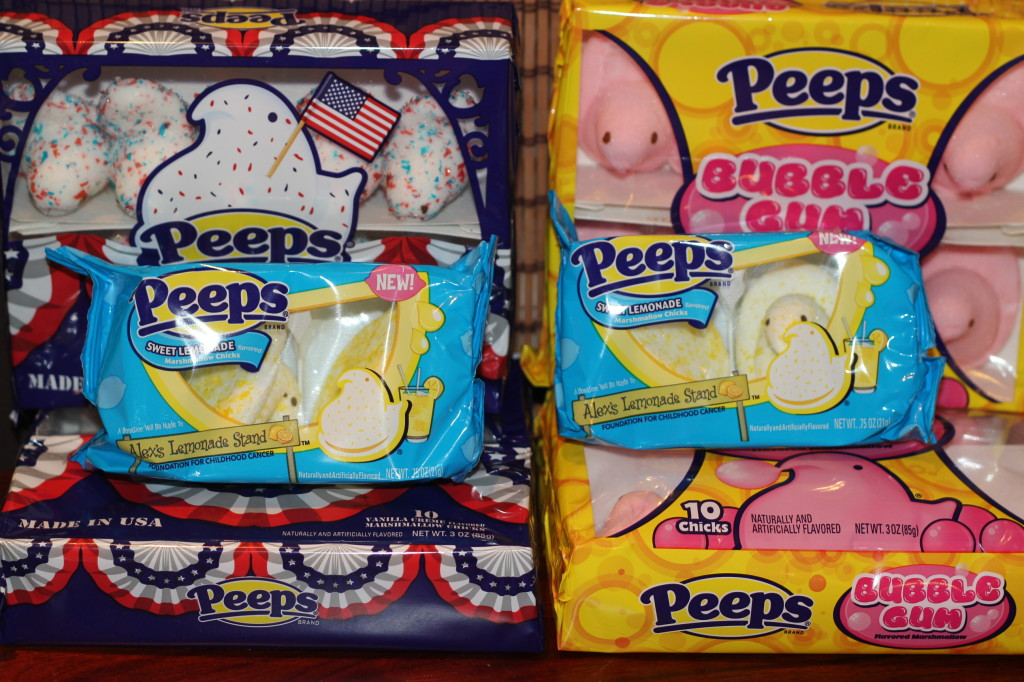 many flavors of peeps