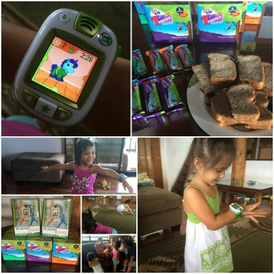 #FitMadeFun MommyParty sponsored by LeapFrog and CLIF Kid