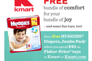 FREE Huggies Diapers at Kmart