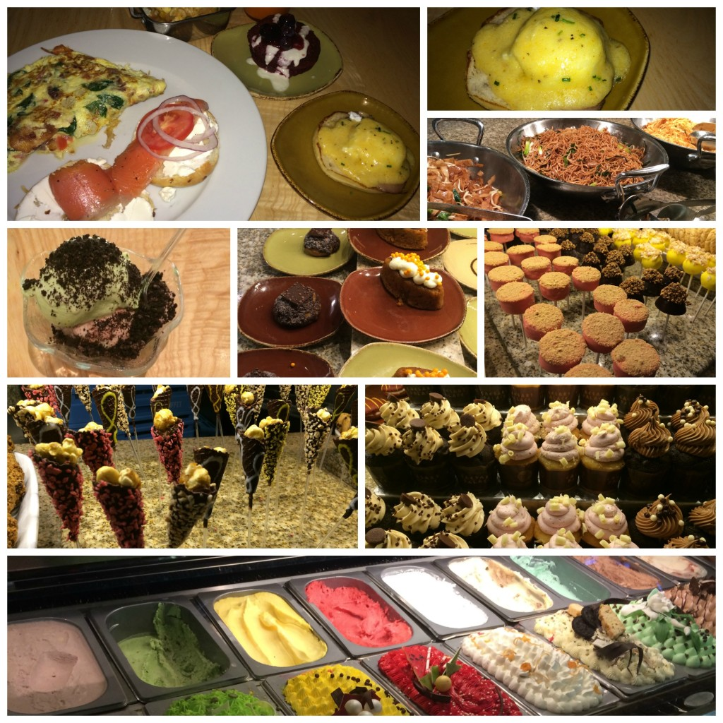 caesars palace bacchanal buffet breakfast lunch review