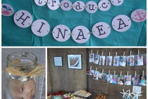"Nautical Themed ""Welcome Baby"" Party"