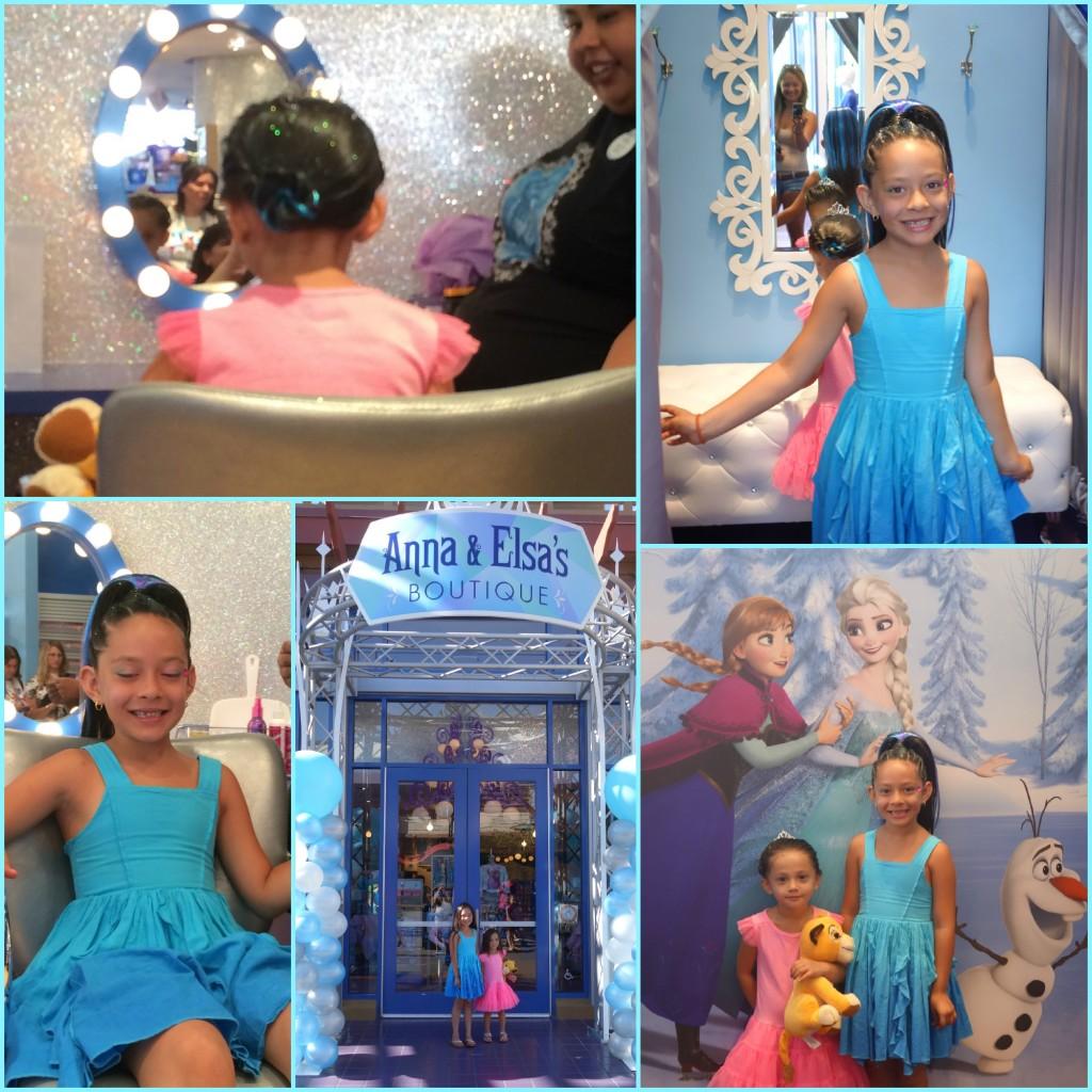 Anna & Elsa's Boutique Makeovers