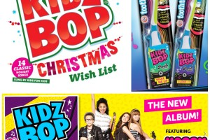KIDZ BOP CD's & Tooth Tunes Toothbrush *Holiday Gift Guide*