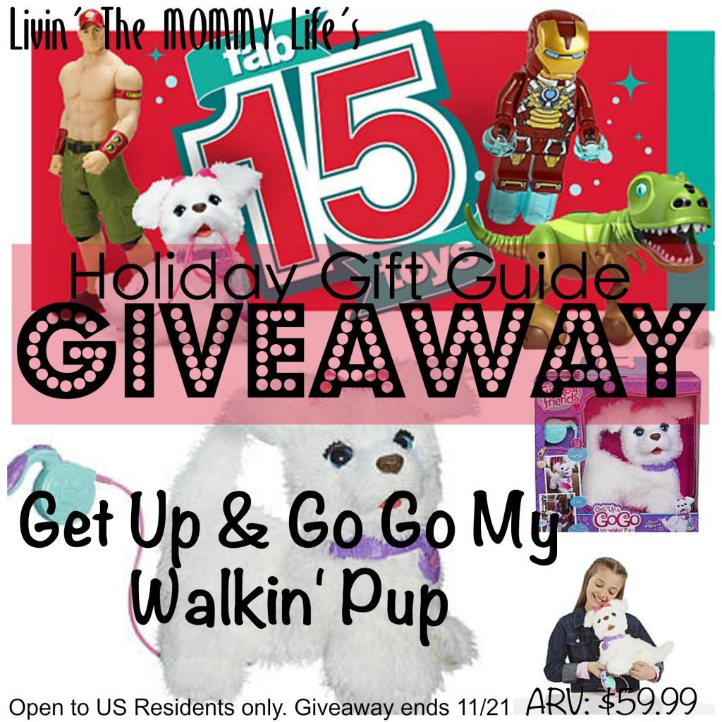 go go my walkin pup fab15 giveaway