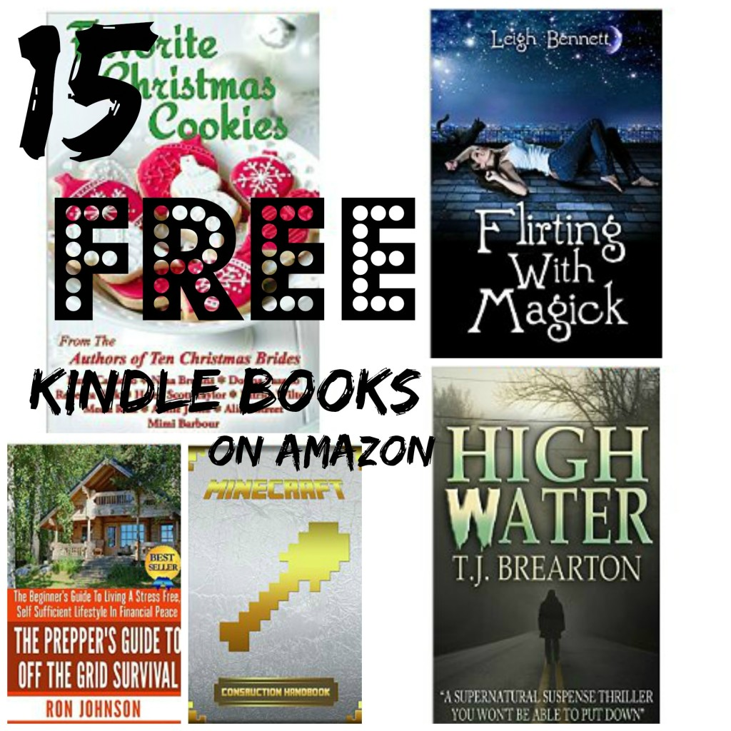 15 free kindle books on amazon