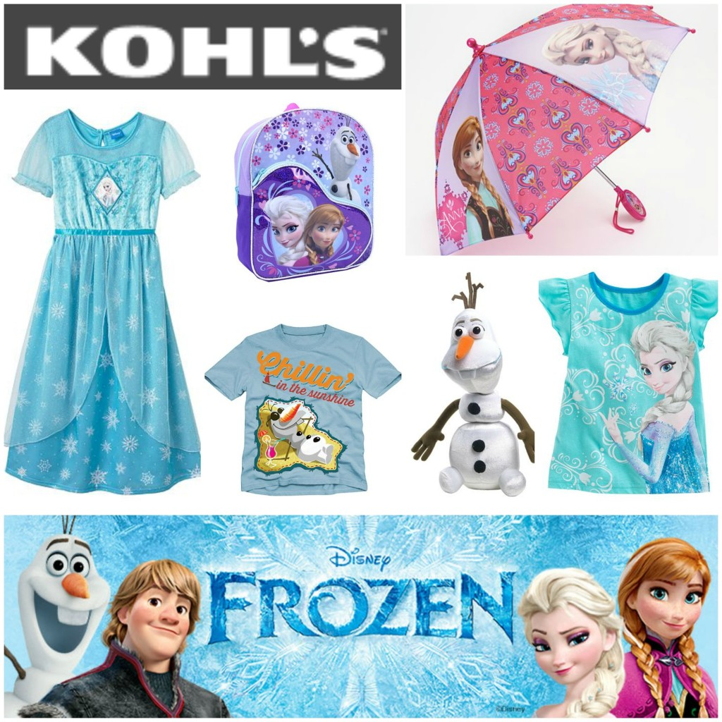 Disney Frozen at Kohl's