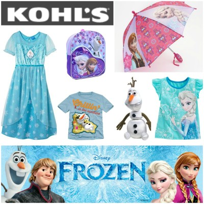Have a FROZEN inspired Christmas from Kohl's *Holiday Gift Guide*