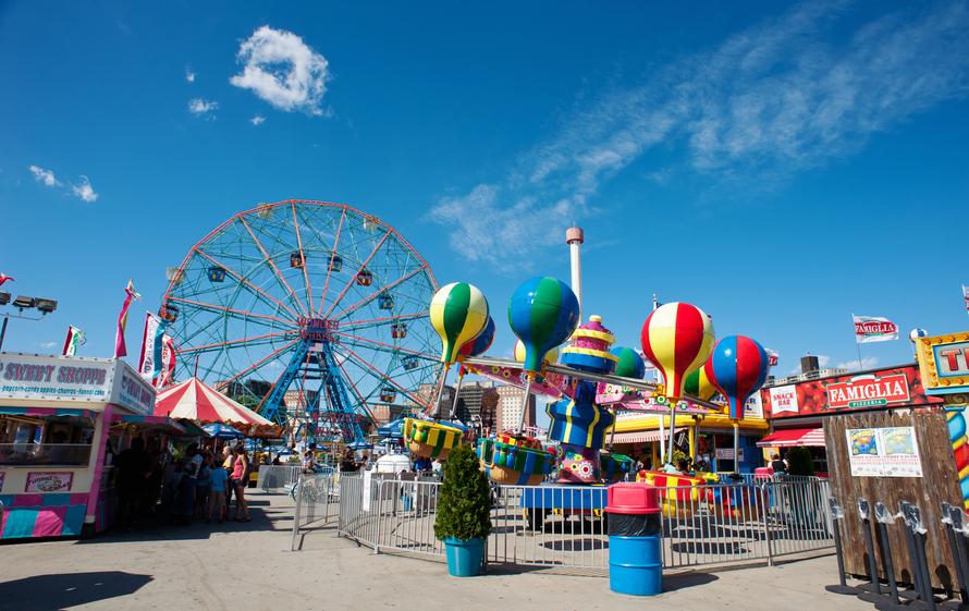 amusement parks US