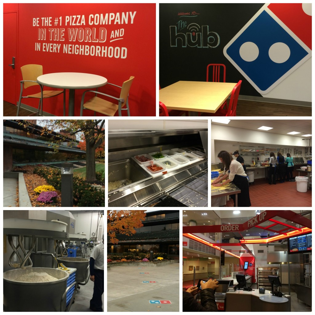 Dominos Headquarters Blogger Day