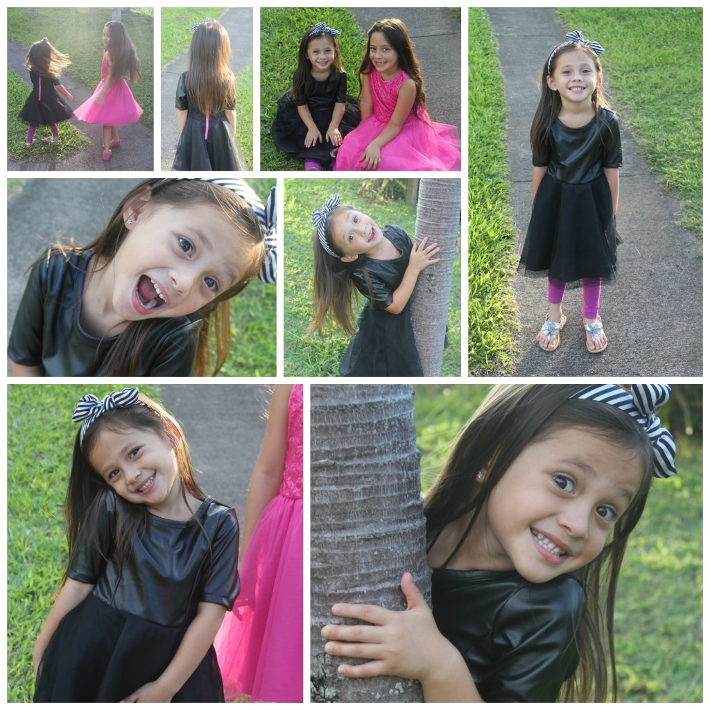 FabKids October Black Dress
