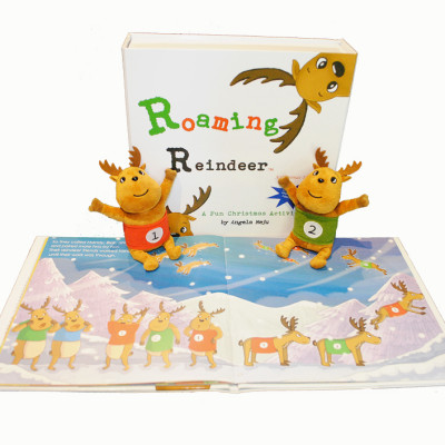 Encourage Good Behavior this Holiday Season with the Roaming Reindeer #RoamingReindeerBlogTour + GIVEAWAY