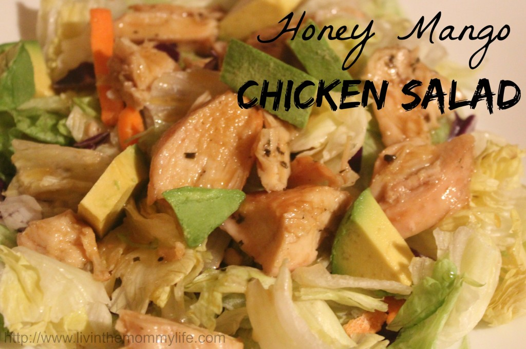 Honey Mango Chicken Salad