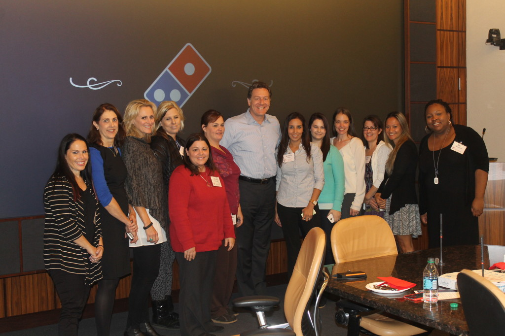 Dominos Blogger Day with Patrick Doyle CEO