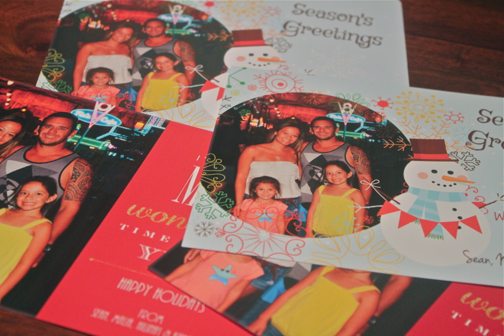HP Photo Creations create Holiday Card