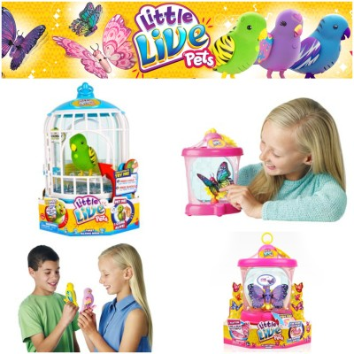 Little Live Pets Bird Cage & Butterfly House *Holiday Gift Guide*