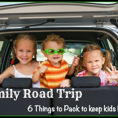 A family road-trip: what NOT to forget to entertain your kids in the car
