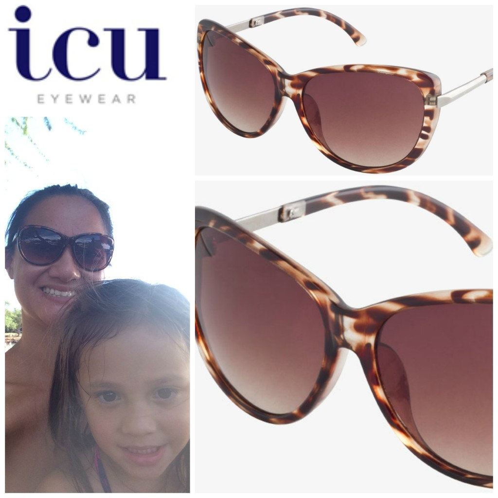 icu eyewear large cat eye sunglasses