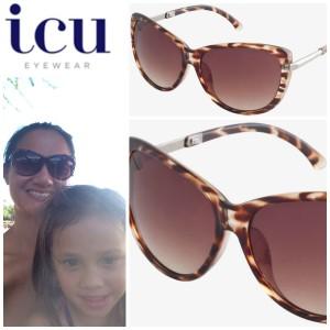icu eyewear large cat eye sunglasses