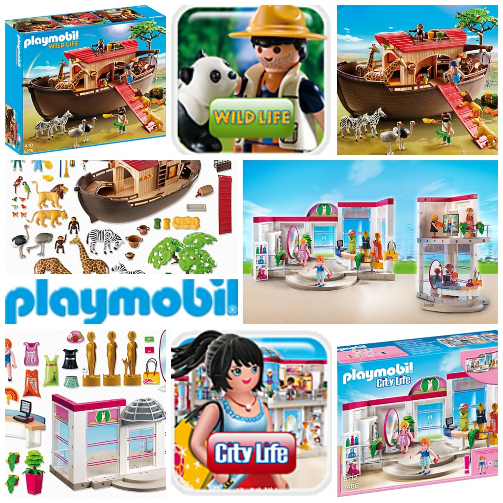 playmobil wild life and city life gift guide
